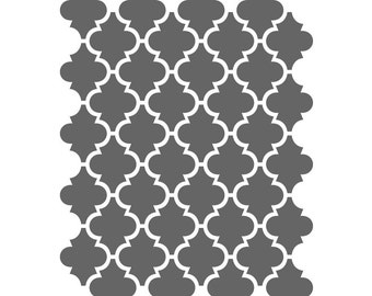 Moroccan Stencils Template For Crafting Canvas DIY decor Wall art furniture #5