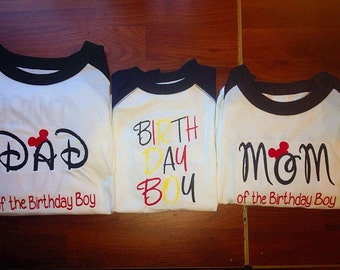 Family birthday shirts, family disney shirts, matching family shirts, matching disney shirts, disney world shirts, family shirts. mom, dad