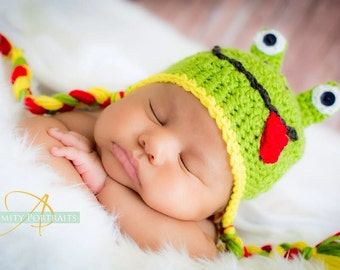 Simply Froggy Hat