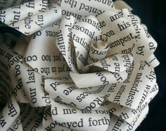 Edgar Allan Poe Book Bouquet-Book lover gift-Book Bouquet-Book decor- Unique Gift- Bridal Bouquet- Paper flowers -Wedding- Valentines