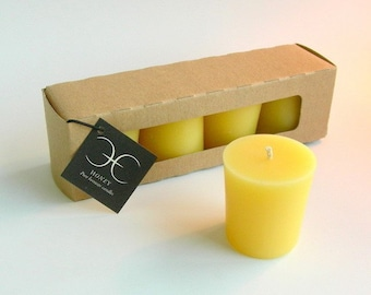 Cire d'abeille Votive Set