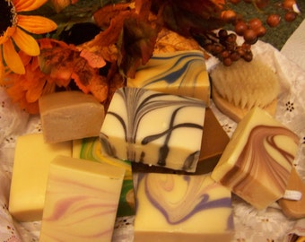 12 Bars of Goat Milk Soap, you choose the scent/Made in Vermont