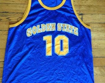 Vintage NBA Golden State Warriors jersey Tim Hardaway