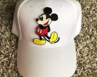 PREORDER Minnie & Mickey baseball caps