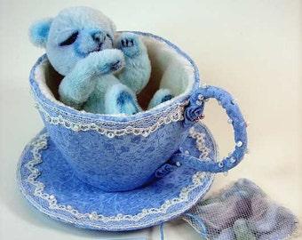 Teekanne und Teetassen selber nähen. Das besondere Teegeschirr als ebook mit Schnittmuster