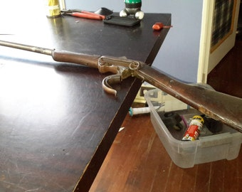 Burnside Arms civil war Rimfire rifle, well maintained and all original