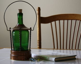 Music Box, Wine Bottle,Decanter