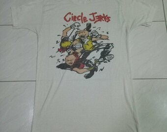 Rare Vintage Tshirt Circle Jerks punk,punkrock,hardcore