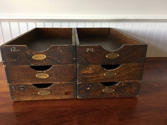 FarmhouseEclectics on Etsy offers these great vintage bins