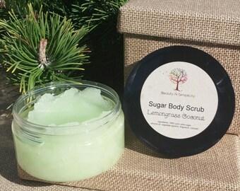Lemongrass Coconut Sugar Body Scrub