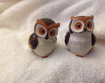 Shaker salt and pepper Owl