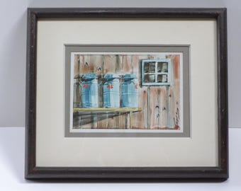 Art, Original Art, Original Framed Art, Watercolor, Original Watercolor, Watercolor Art, Framed Watercolor, Watercolor Painting, Wall Decor