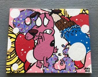 Munchies - graphic wall art