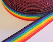 Rainbow Strap 38mm wide p...