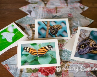 Handmade 5x7 Blank Cards with Envelopes, Original Photography, Photo Cards, Blank Note Cards, Blank Greeting Card, Card Gift Set, Note Cards