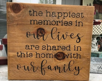 The Happiest Memories in Our Lives