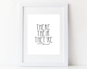 Funny Wall Art Print - Novelty - Printable - DIY - Printable - 8x10