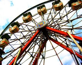 Ferris Wheel Photography Print
