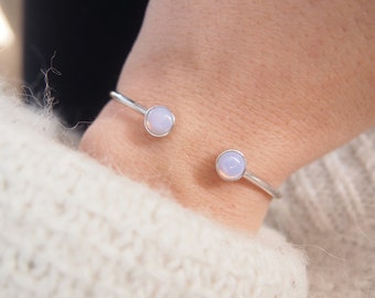 Rose Bangle in Silver 925 - sterling silver bangle