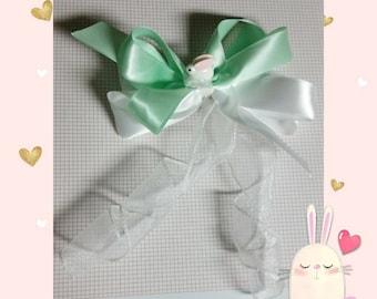 Lil bunny satin bow