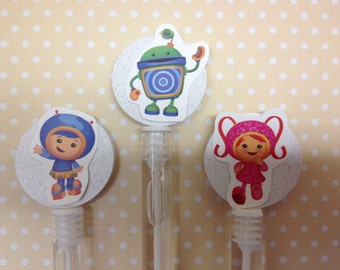 Team Umizoomi Party Bubble Favors - Set of 10