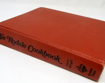 Vintage Cook book 1973 The Rodale Cookbook Vintage Recipes, Old Cookbook First Printing