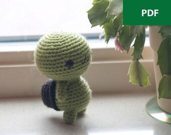 Amigurumi Turtle - Crochet Pattern