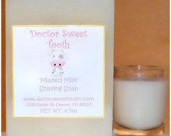 Malted Milk Scented Shaving Soap 4.5oz