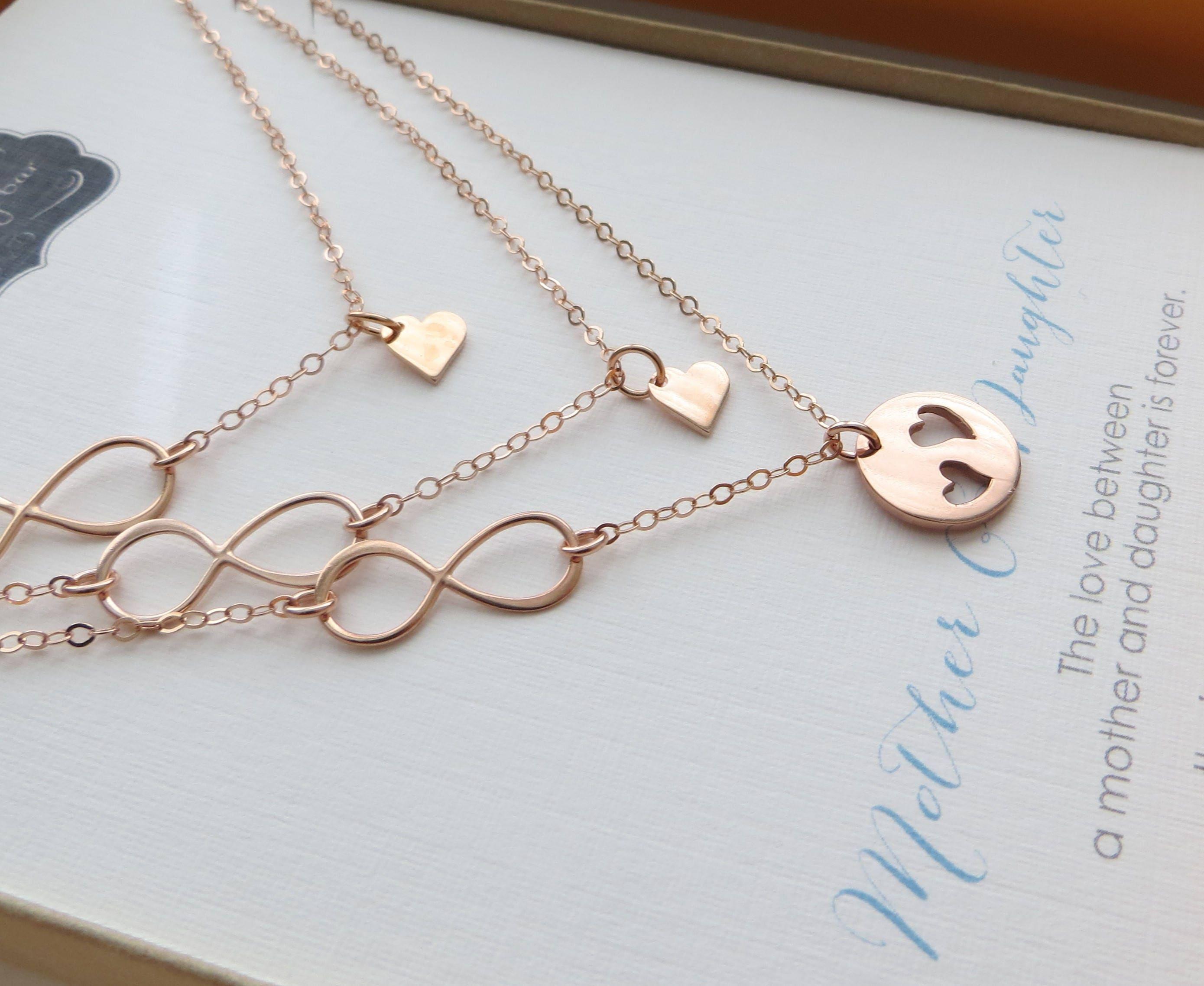 set mother infinity sideways necklaces cross studio simply shop sweet daughter necklace