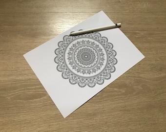 Mandala print 4