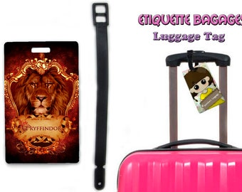 harry potter gryffindor -  #1-027 - luggage tag name