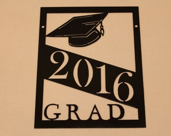 Graduation Gift 2016 Grad Sign