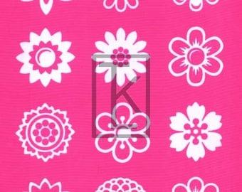 Individual Blossoms Silk Screen silkscreen