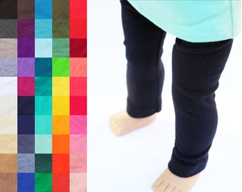 Fits like American Girl Doll Clothes - Leggings, You Choose Color and Length | 18 Inch Doll Clothes