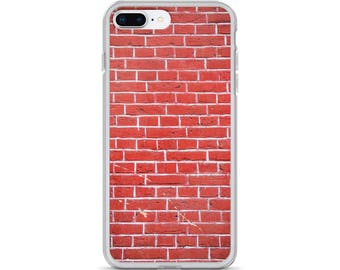 Simple Brick Red Brick Wall iPhone Case