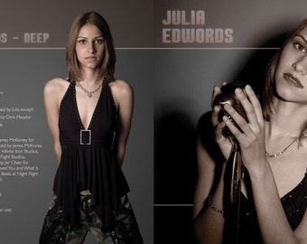 Julia Edwords Deep (Signed)