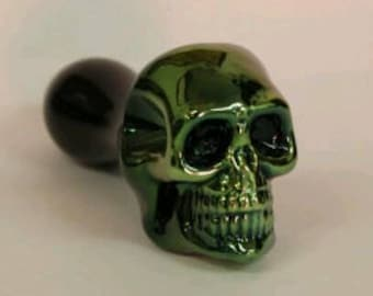 FREE SHIPPING !Pocket Skull Pipe From Brebes