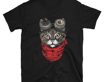 Cool cat steampunk