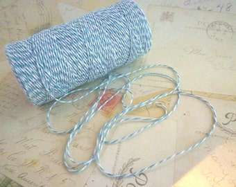 Bakers Twine - Soft Blue - 10m