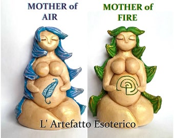 Mother of Air - Nolava of Air (Arianrhod, Danu, Cailleach)/ Mother of Fire - Nolava of Fire (Eostre, Artha, Grainne) ONLY ONE