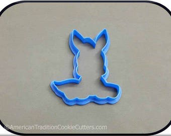 "4"" Donkey 3D Printed Cookie Cutter"
