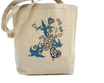 Cotton Canvas Tote Bag - Sweet Soul