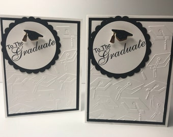 Handmade Graduation Card Set of 2