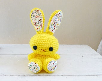Sunny the Bunny, Cute Stuffed Animal, Bunny Stuffed Animal, Ready to ship