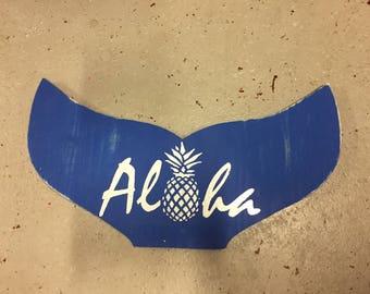 Aloha Whale Tail