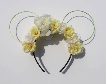 Floral fairy ears