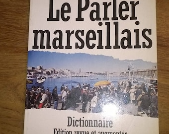 """(29) book 180 pages """"Le talking Marseille"""""""