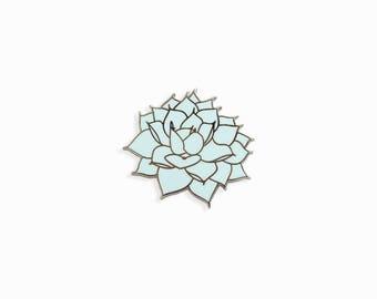 Sassy Succulent Enamel Pin | Succulent Pin | Succulent cactus pin, enamel pin, lapel pin, flair, enamel jewelery, pin badge
