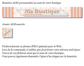 """Banner and avatar to shop """"ShabbyChic"""""""