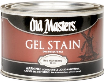 Old Masters Oil Based Gel Stain Pint (16oz) All Colors Available